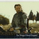 Lord of the Rings: Return of the King Promo Card P1 (Topps) - Aragorn