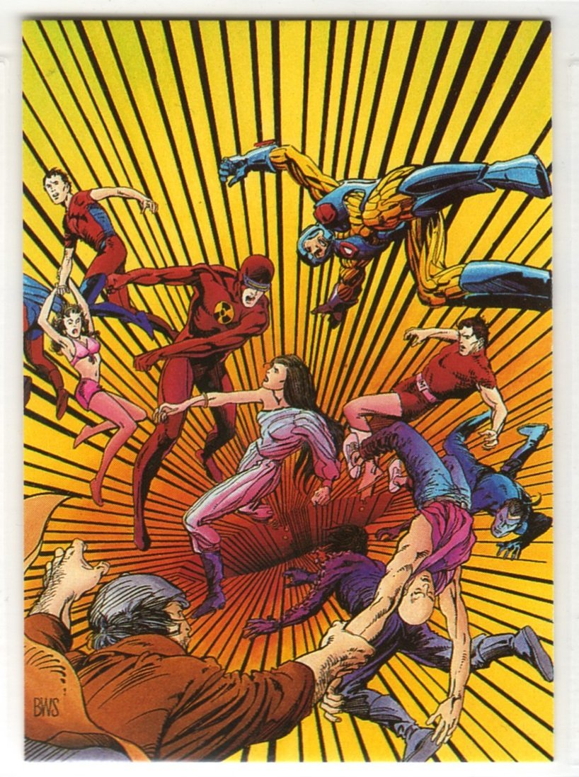 Valiant Unity Promo Card (Comic Images) - featuring cover art by Barry Windsor-Smith