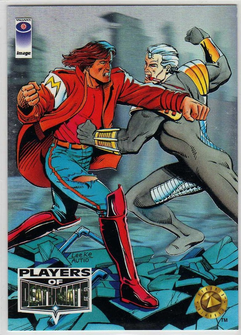 Image/Valiant Deathmate Players P3 Chase Card (Upper Deck) - Magnus Robot Fighter and Battlestone