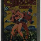 Golden Age of Comics Chromium Promo Card F1 (Comic Images) featuring Startling Comics #53