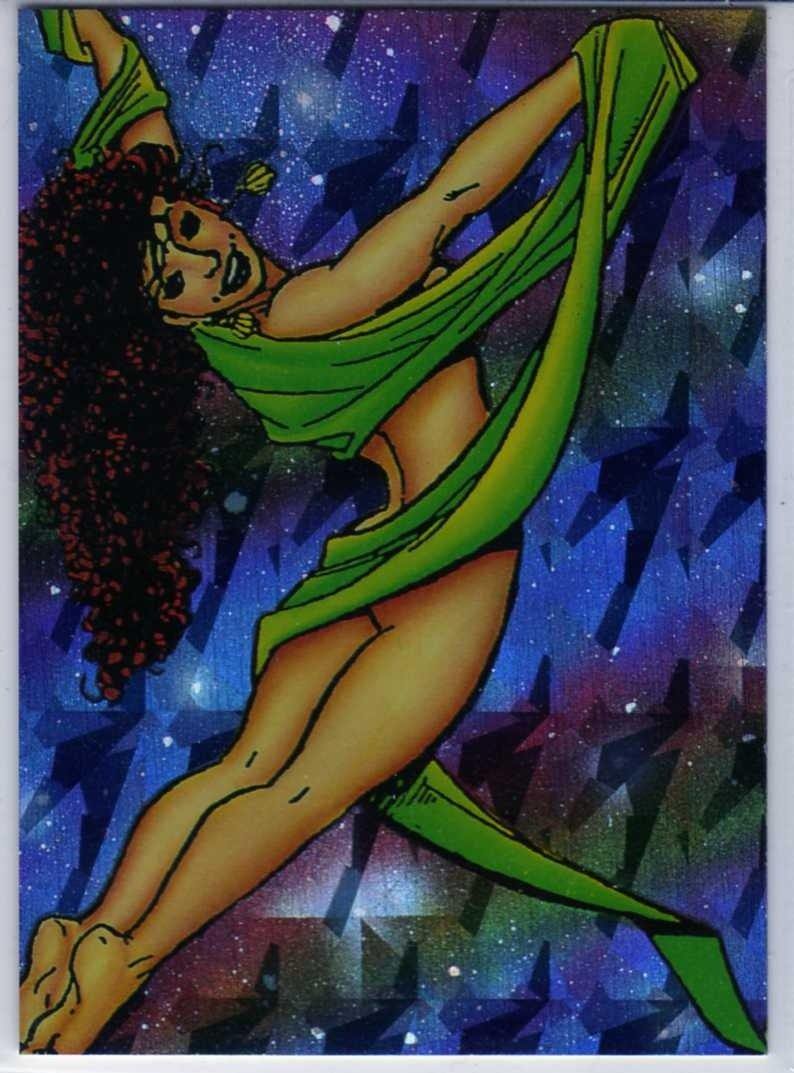 Sachs & Violens P2 Chase Card (Comic Images) art by George Perez