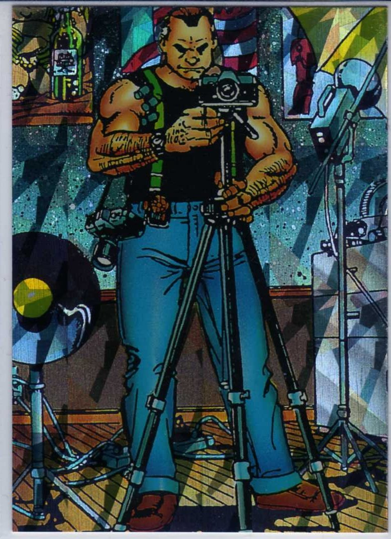 Sachs & Violens P3 Chase Card (Comic Images) art by George Perez