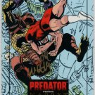 Predator Versus Magnus Robot Fighter #4 Autographed Trading Card (Wizard) art by Lee Weeks