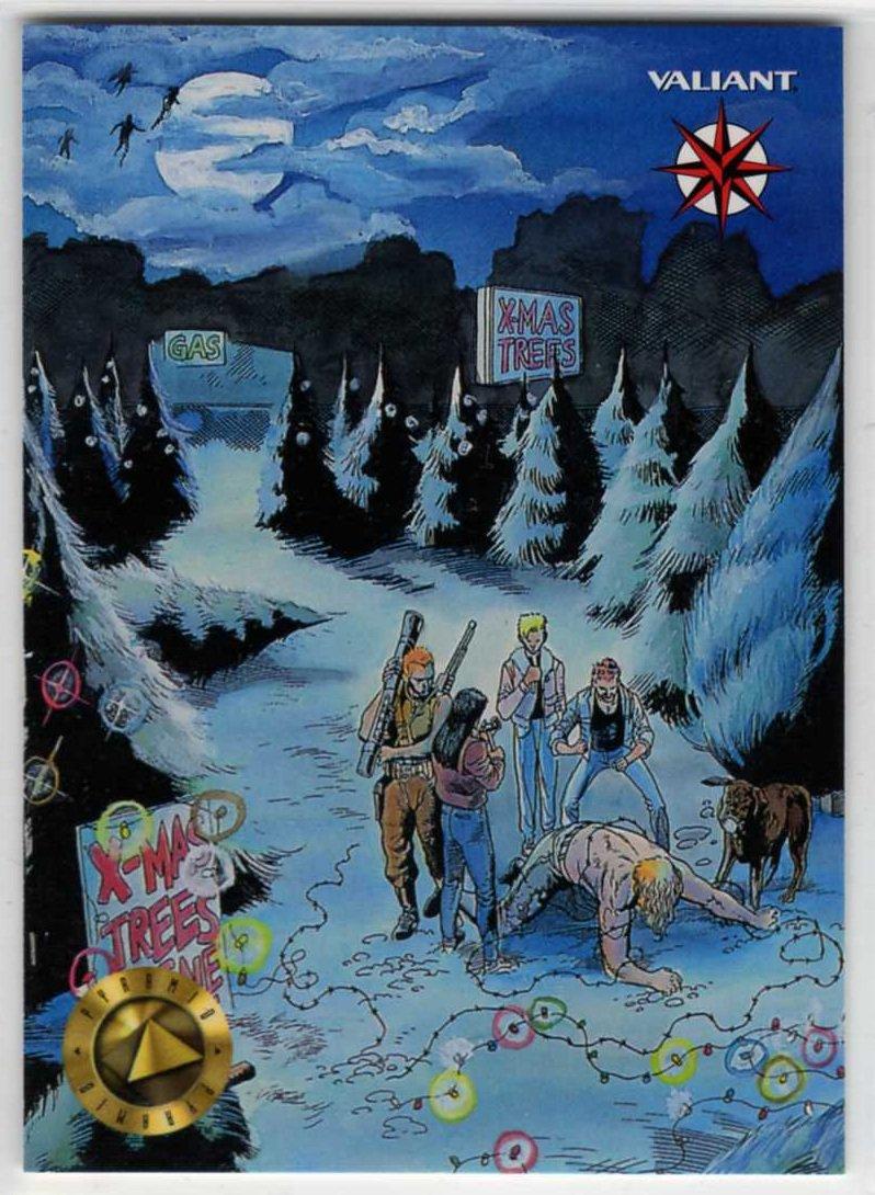 Upper Deck/Pyramid 1993 Comic Con Promo Trading Card (Valiant)