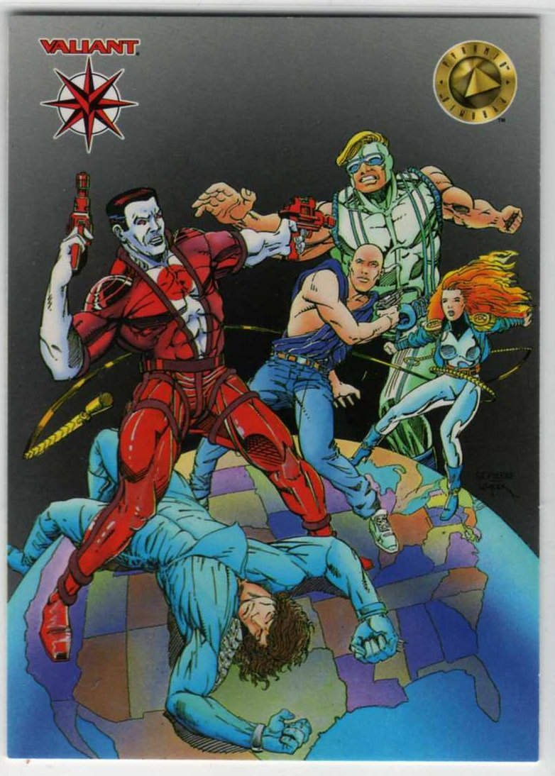 Upper Deck/Pyramid 1994 Thank You Promo Trading Card (Valiant)