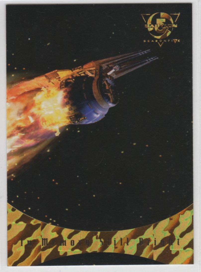 Babylon 5 Season 5 Chase Card S9 (SkyBox) - Sleeping In Light