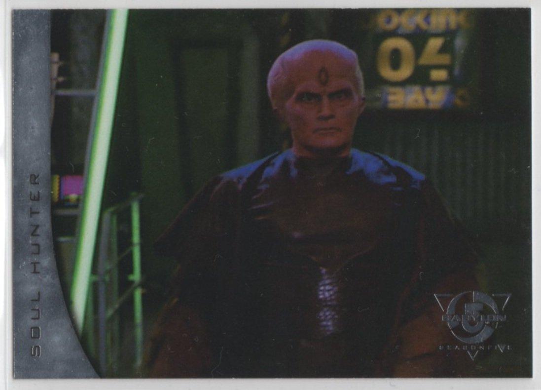 Babylon 5 Season 5 Chase Card R6 (SkyBox) - River of Souls