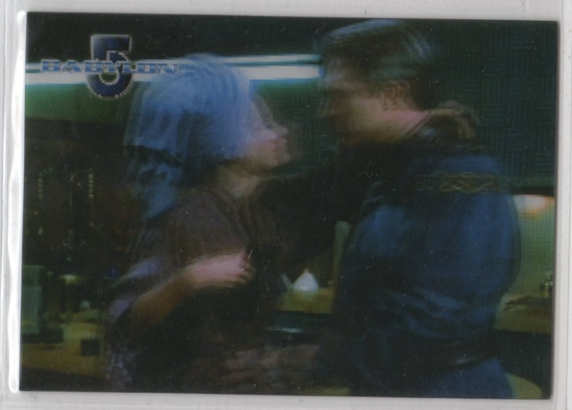 Complete Babylon 5 Lenticular Chase Card W12 (Rittenhouse) - Women of Babylon 5 - Julia Nickson