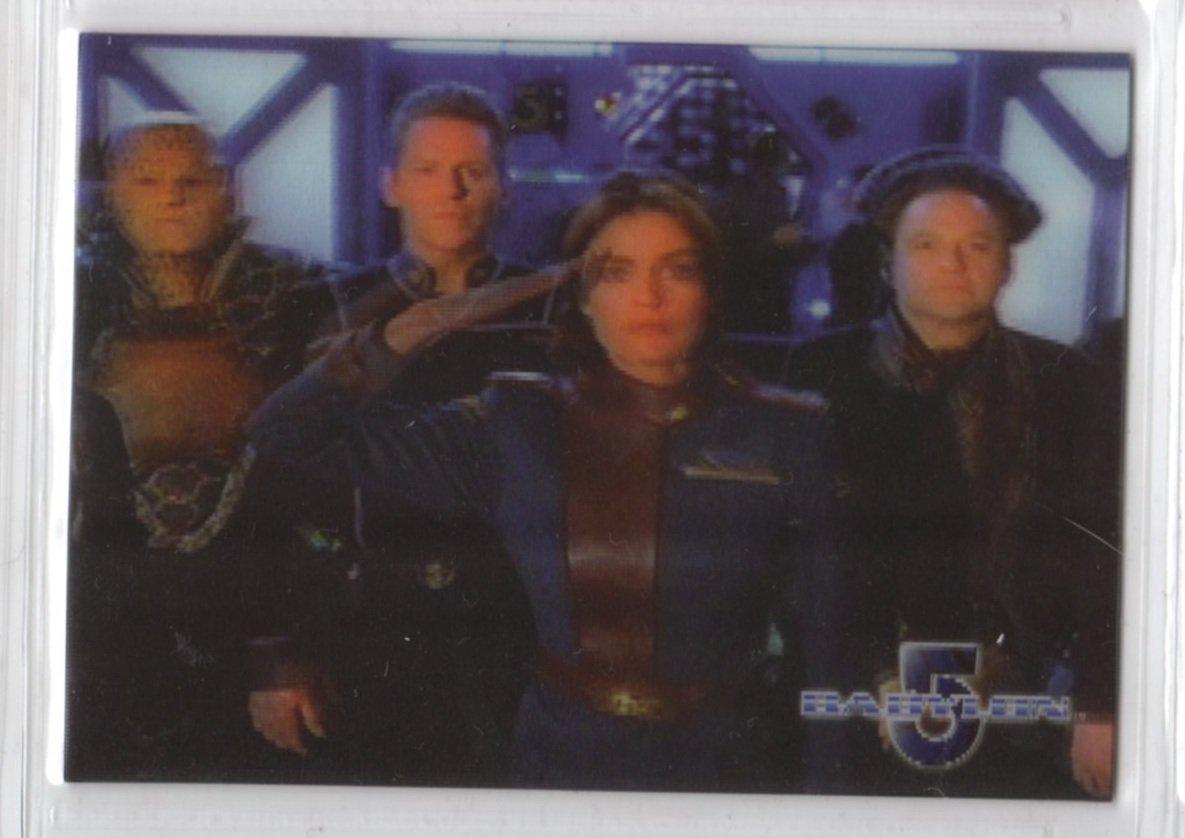 Complete Babylon 5 Lenticular Chase Card W14 (Rittenhouse) - Women of Babylon 5 - Tracy Scoggins