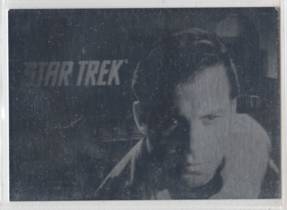Star Trek Series Two 25th Anniversary Hologram Chase Card H3 (Impel) - James T. Kirk