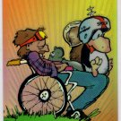 Bloom County Outland Holochrome H-3 (Krome Productions) - Berke Breathed - Trading Cards