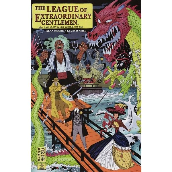 League of Extraordinary Gentlemen Vol 1 #3 (Comic Book) - DC Comics - Alan Moore, Kevin O'Neill