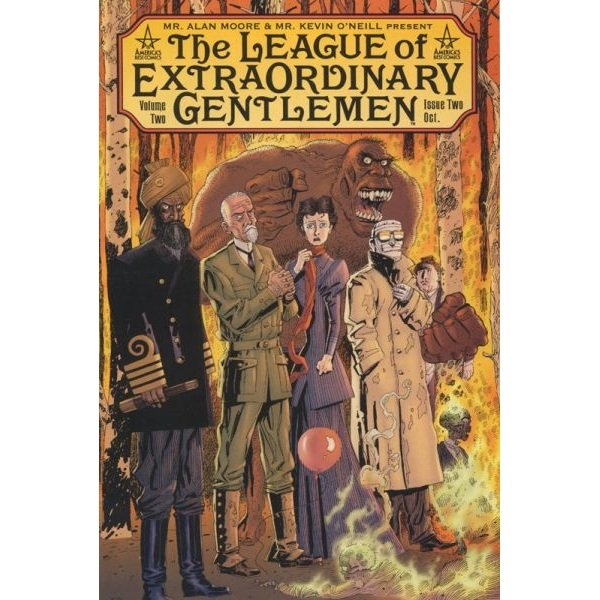 League of Extraordinary Gentlemen Vol 2 #2 (Comic Book) - DC Comics - Alan Moore, Kevin O'Neill