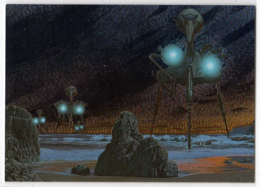 Roger Dean Metallic Storm Chase Card MS5 (FPG) - Trading Cards