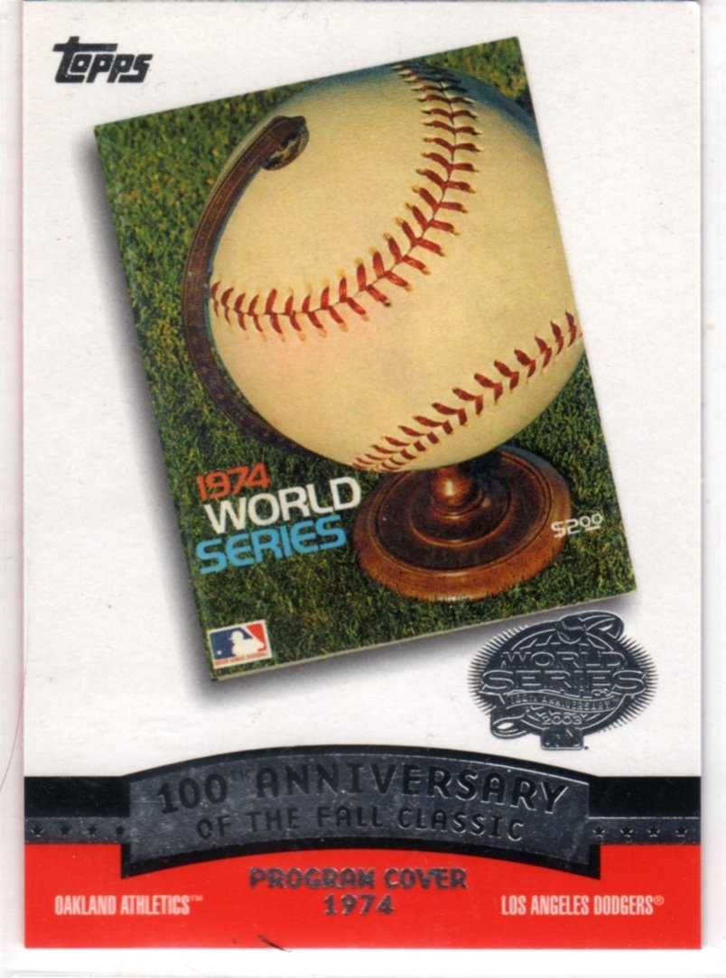 2003 100th Anniversary of the Fall Classic Card FC1974 (Topps) - Baseball Card - A's v Dodgers