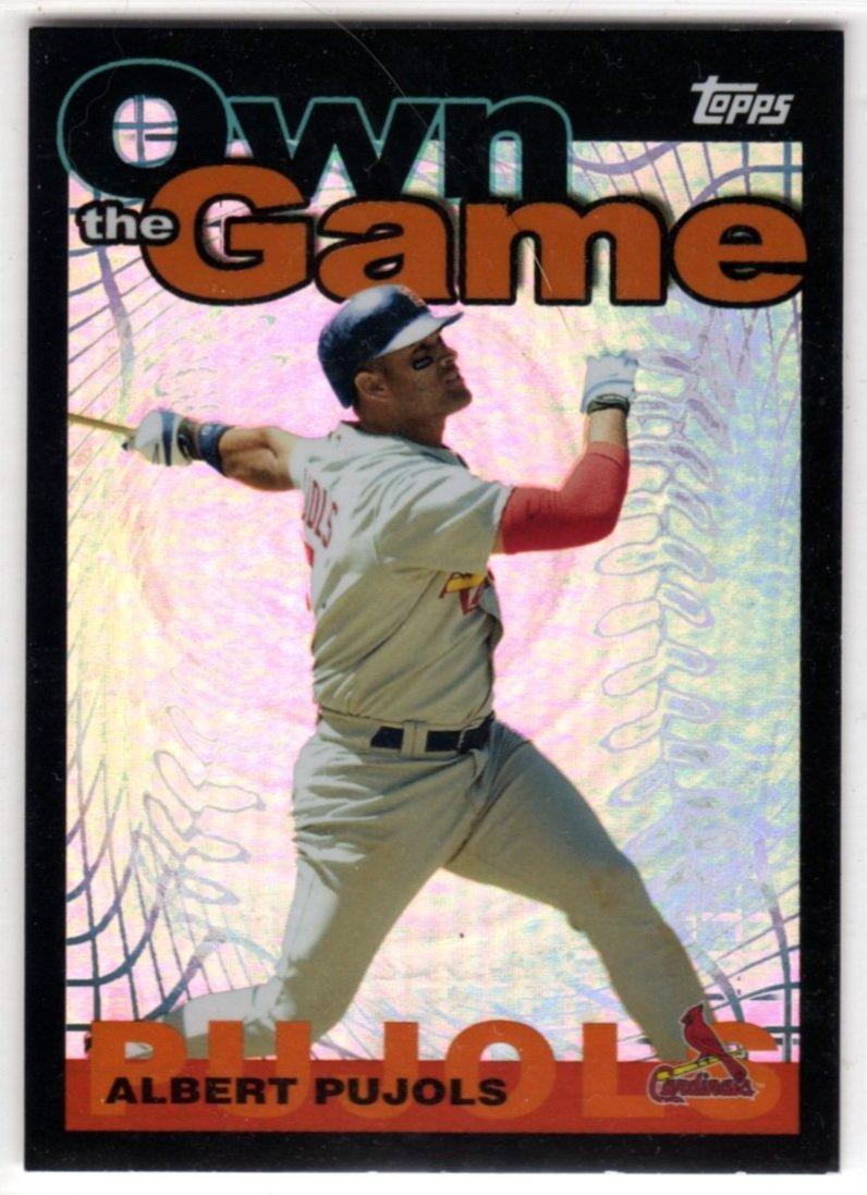 2004 Baseball Own The Game OG2 (Topps) - Albert Pujols, Cardinals - Trading Card