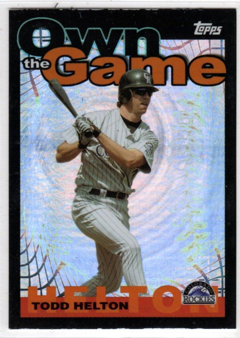2004 Baseball Own The Game OG11 (Topps) - Todd Helton, Rockies - Trading Card