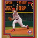 2004 Gold Baseball Card #222 (Topps) - Randy Wolf, Phillies, 1035/2004 - Trading Card