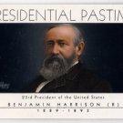 2004 Presidential Pasttime PP-23 (Topps) - Benjamin Harrison - Baseball, Trading Card