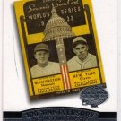 2004 100th Anniversary of the Fall Classic Card FC1933 (Topps) - Baseball Card - Giants v Nationals