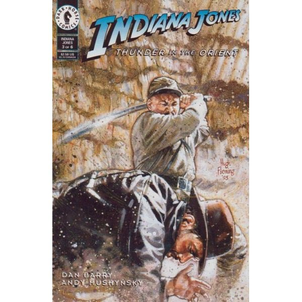 Indiana Jones: Thunder In The Orient #3 (Comic Book) - Dark Horse Comics - Dan Barry, Dave Dorman