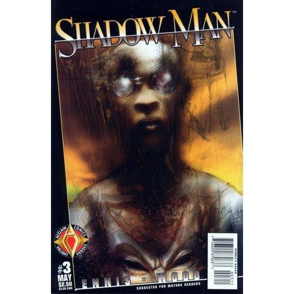Shadowman, Vol. 2 #3 (Comic Book) - Acclaim Comics - Garth Ennis, Ashley Wood