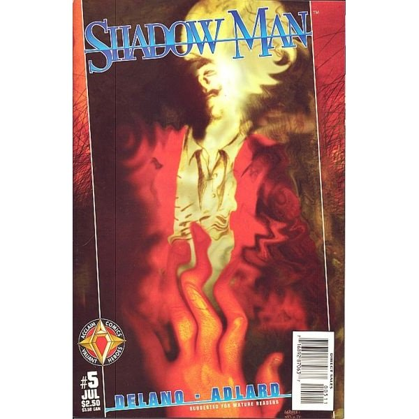 Shadowman, Vol. 2 #5 (Comic Book) - Acclaim Comics - Jamie Delano, Charlie Adlard