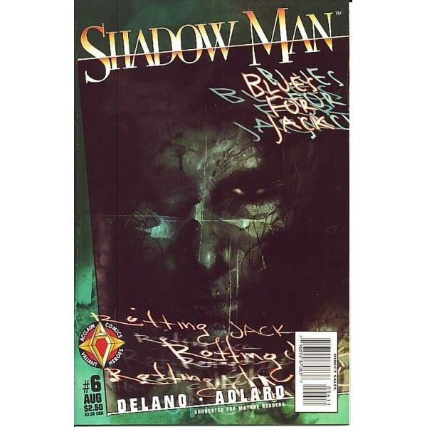 Shadowman, Vol. 2 #6 (Comic Book) - Acclaim Comics - Jamie Delano, Charlie Adlard