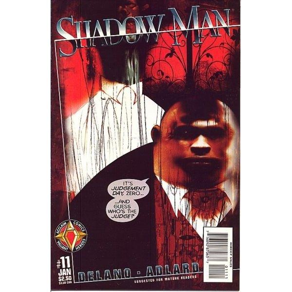 Shadowman, Vol. 2 #11 (Comic Book) - Acclaim Comics - Jamie Delano, Charlie Adlard