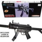 MP5A7H Airsoft Rifle w/ Laser and LED Light