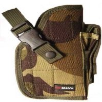 Camouflage Airsoft Gun Holster - Right Side