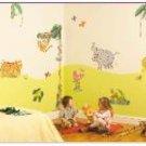 Jungle Safari Room Make Over Kit - Wall Stickers