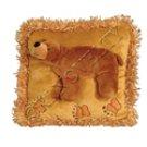 Brown Bear Kids Plush Pillow