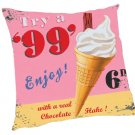 """99"" Ice Cream Pillow - Kids/Teens Pillow"