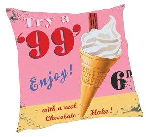 """""""99"""" Ice Cream Pillow - Kids/Teens Pillow"""