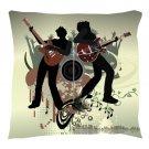 Rock Band Pillow - Throw Pillow