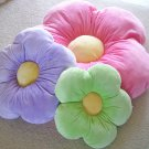 Daisy Pillow - Kids Girls Room - Green - Large
