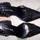 Black Pointy D'orsay Pumps size 6 1/2