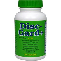 DISC-GARD + (PLUS) - 90 Tablets - Dee Cee Laboratories (Labs) - Fast USA Shipping!!!
