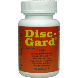 DISC-GARD - 90 Tablets - Dee Cee Laboratories (Labs) - Fast USA Shipping!!!