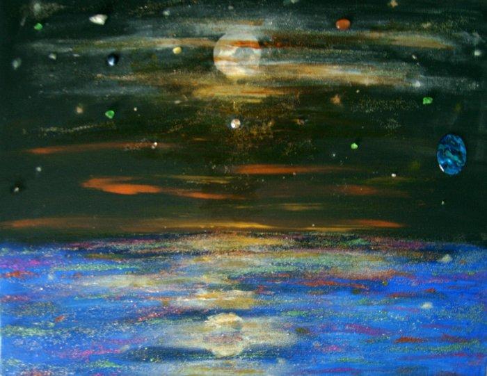 Night Sky at sea