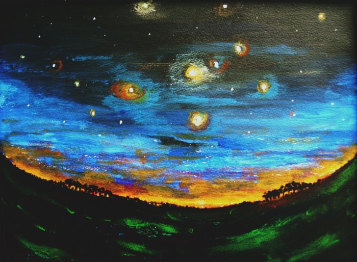 Country Starry Night