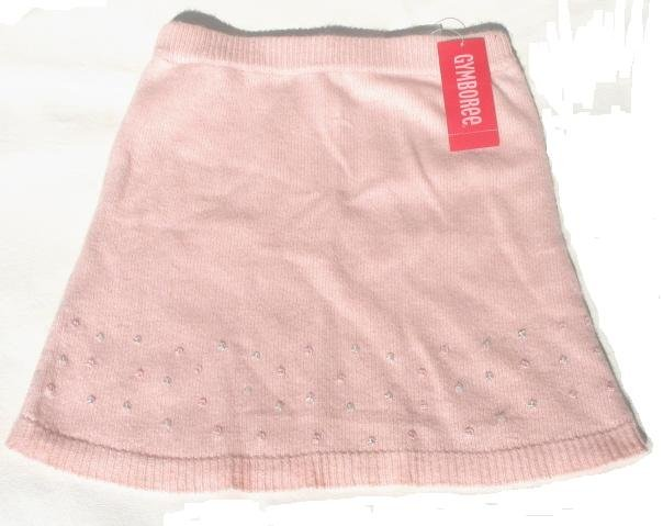 GYMBOREE Prima Ballerina Girls Pink Sweater Skirt 8 NEW