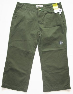 Brilliant Womens Khaki Green Lightweight Combat Trousers Cargo Jeans Loose Wide