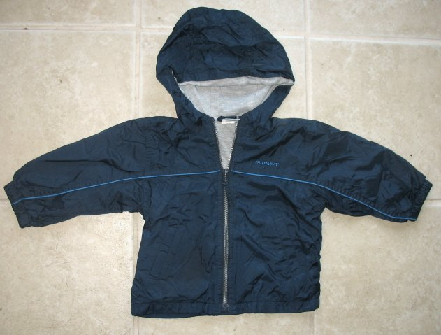 OLD NAVY Boys Wind Jacket 12 18 24 Mo GUC