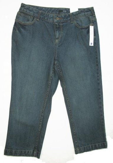 ANA Denim Capri Pants 10 Petite NEW $32