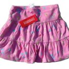 GYMBOREE Island Fun Girls Pink 2-Tier Skirt 5 NEW