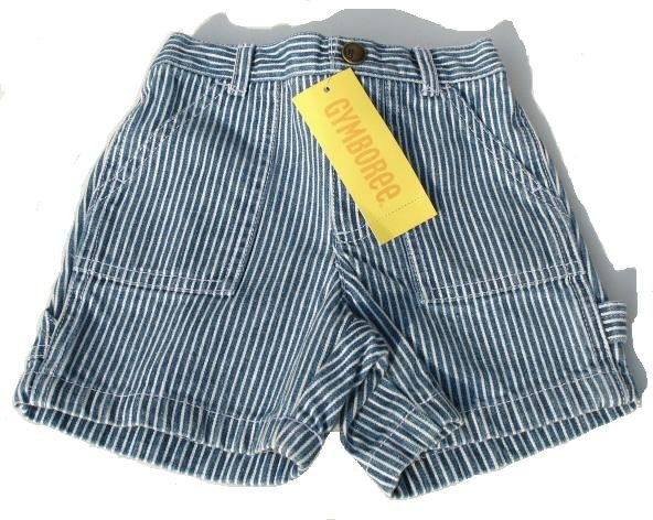 GYMBOREE My Dinosaur Stripe Shorts Boys 6-12 Mo NEW