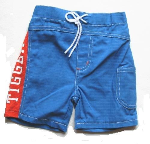 DISNEY Boys Blue Tigger Board Shorts 3 6 Mo NEW