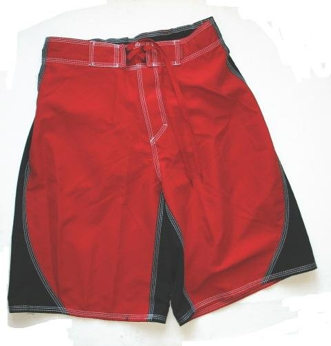 ARIZONA Mens Board Shorts Swim Trunk Red S Small NEW $30